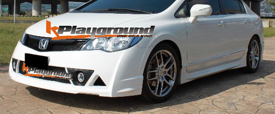Mugen RR front conversion1 Mugen RR Style Rear Lip VERSION 2  and Mugen RR Style Front Bumper NEW IN STOCK MARCH 2010!