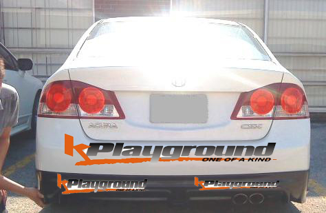 mugen rr rear lip 2 csx and civic sedan 2 edited1 Mugen RR Style Rear Lip VERSION 2  and Mugen RR Style Front Bumper NEW IN STOCK MARCH 2010!