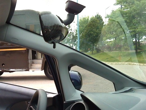 Test fitted Carbon Fibre RR style Rear View Mirror  !!