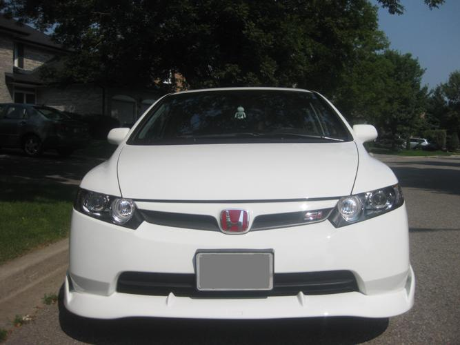 IMG 7745 for website Mugen Si Style Spoiler               and     Mugen Si Front Lip NOW available for purchase!!