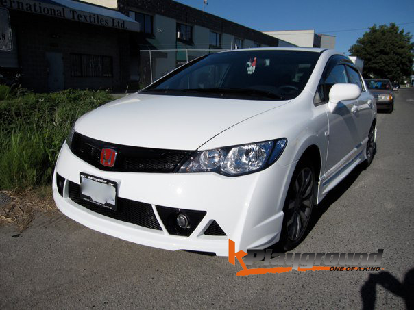Mugen RR Front Conversion,Mugen RR Style Rear Lip with 43 LED and JDM Rear Conversion ALL ...