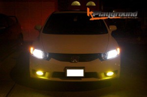 Lights on Civic Front before mugen rr conversion 300x199 Mugen RR FULL Conversion ALL Available at Kplayground!!!