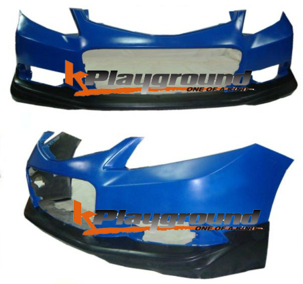 dp8072 flcv132d copy NEW PRODUCT: Kplayground 9thCivic Coupe KPG Front Lip Now available!