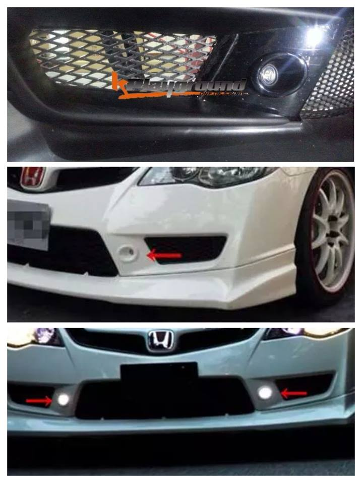 CTR Modulo LED DRL for CTR Bumper!