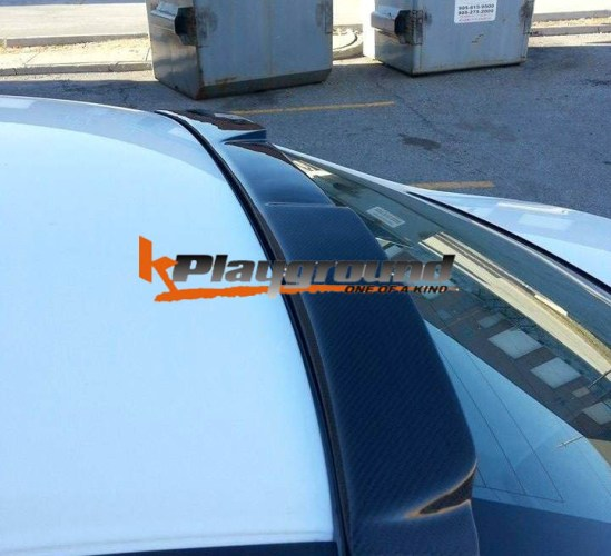 KPG Fspec Carbon Rear Roof Spoiler