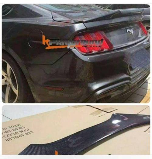 KPG Carbon Trunk Spoiler for 15+ Ford Mustang
