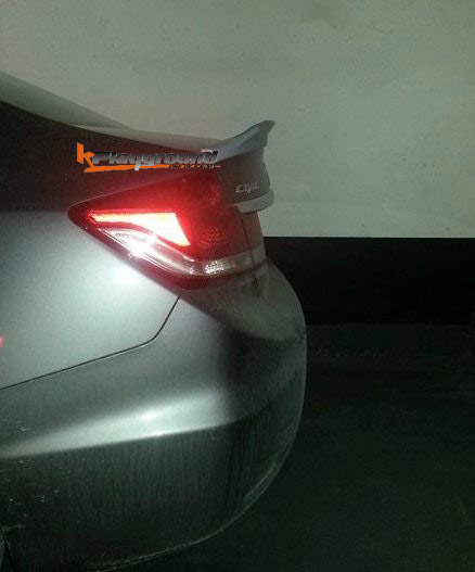 DuckBills Spoiler for 2013+ Civic 4dr