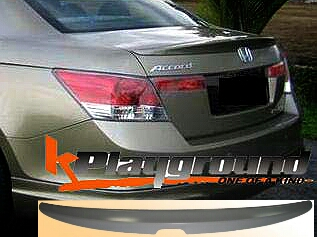 8th ACCORD OEM Style PU Trunk Lid Spoiler