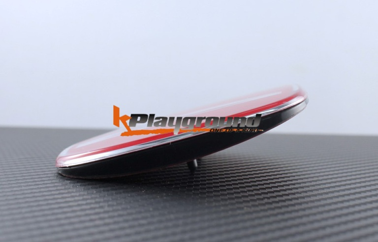 06-11 Civic Red H Rear Emblem for JDM Conversion