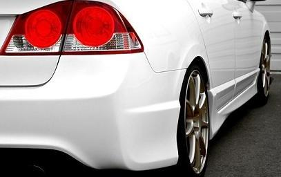 Civic Type R style side skirts