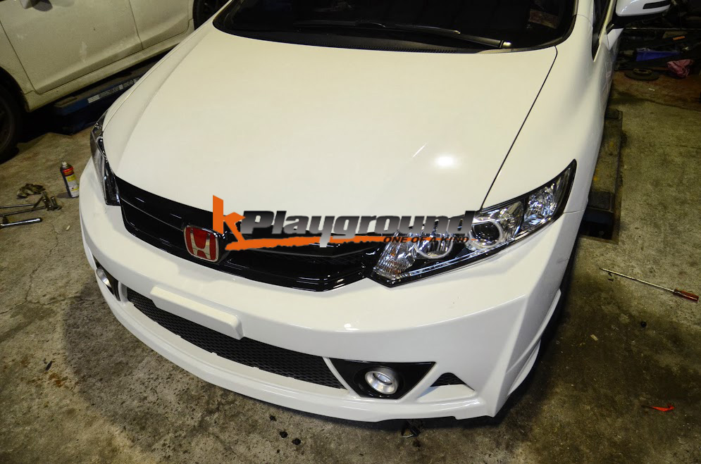 9thCivic Mugen RR Front Conversion