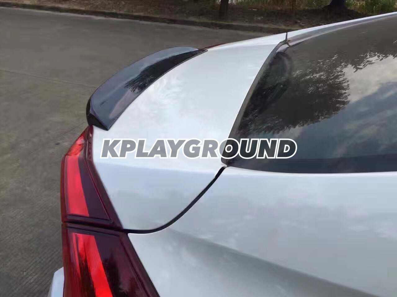 KPG Carbon DuckBill Spoiler for 10thCivic