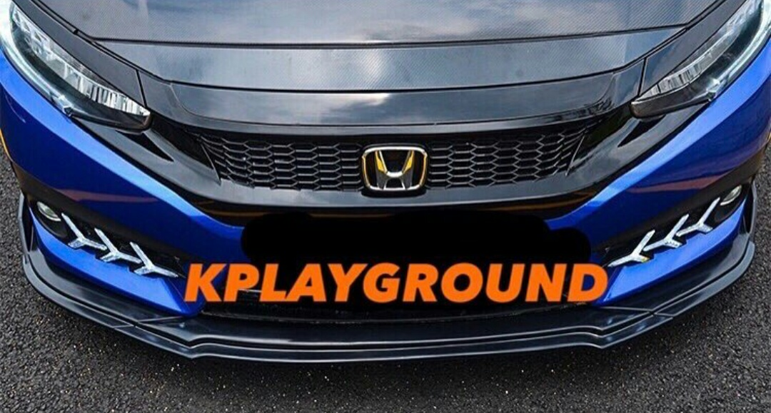 KPG Double Layer Front Lip