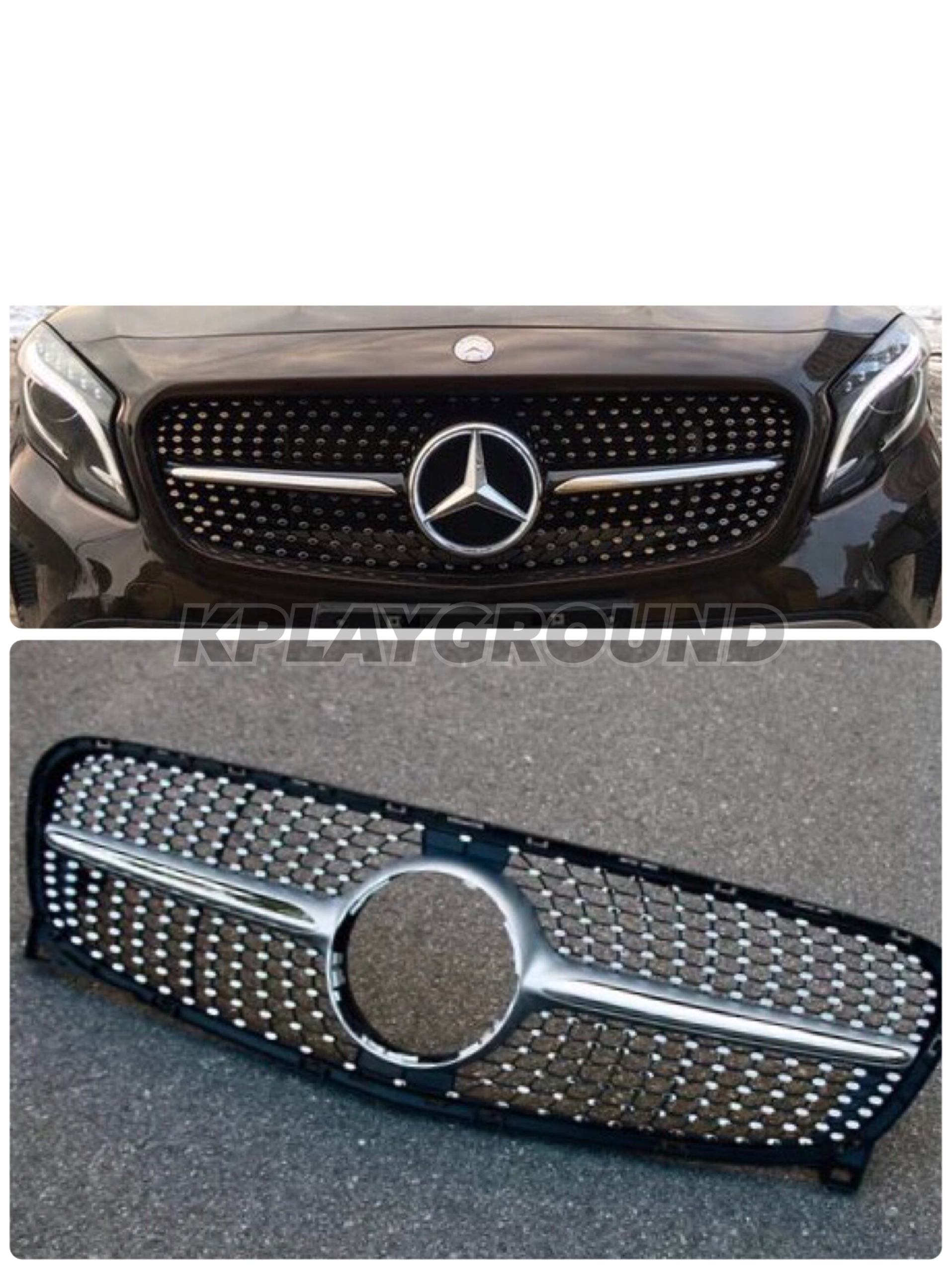 X156 GLA All Star Front Grill