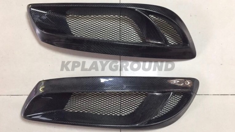 Hyundai Genesis Coupe Carbon FogLight Garnish