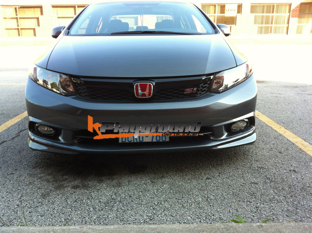 Kplayground Front lip for 2012 Civic Sedan