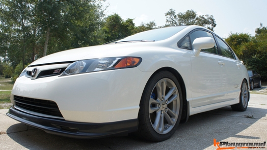 Civic MU Style Front LIp For Sedan