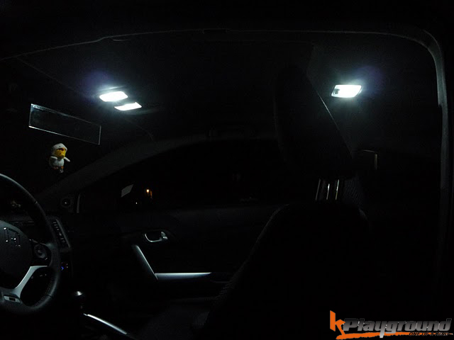 LED interior dome light 06-11 Civic, 2012+ Civic, 2011+ CRZ Each