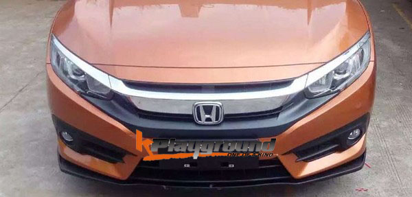 KPG ST Front Lip for 2016+ Honda Civic Sedan & Coupe all models
