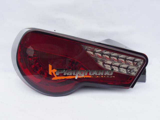 FRS/BRZ Spyder Type V2 Tail Light ~ Red/Clear