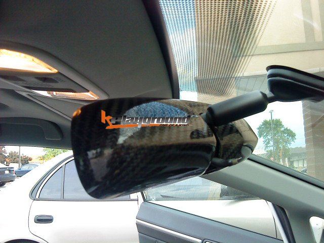 CIVIC Mugen RR Type Carbon fibre interior rear view mirror