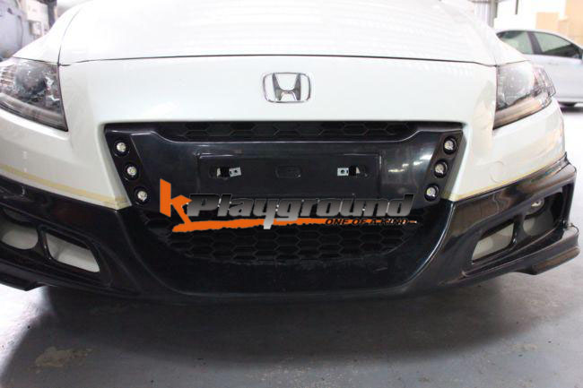 CRZ LED License Plate