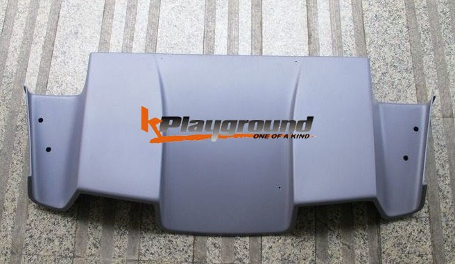 KPG S TYPE Rear Diffuser